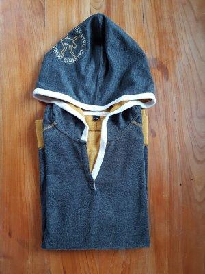 Chillaz Capuchon sweater antraciet-zandig bruin