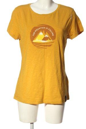 Chillaz Shirt met print sleutelbloem-bruin prints met een thema