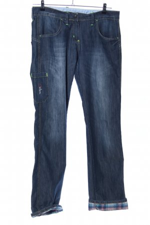 Chillaz Straight-Leg Jeans blau Casual-Look