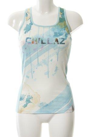 Chillaz Top na ramiączkach Wydrukowane logo W stylu casual