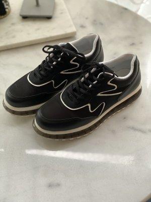 chillegs Sneakers met veters zwart-wit