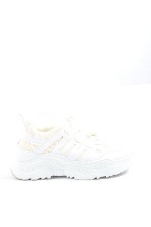 chillegs Sznurowane trampki biały-kremowy W stylu casual