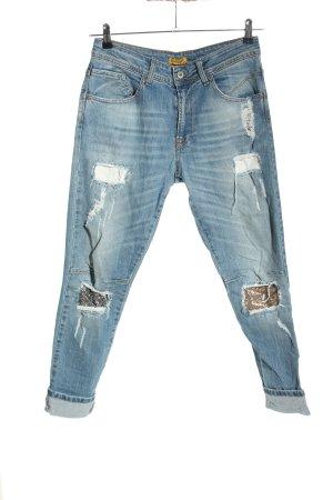 Chilli Boyfriend Jeans blue casual look
