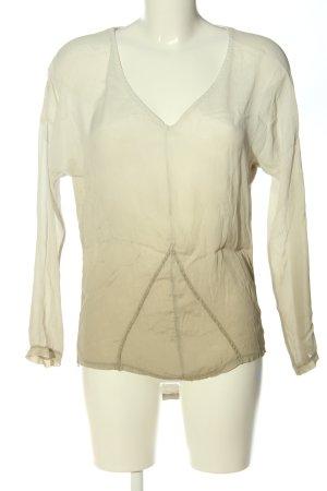 Chilli Camicetta a maniche lunghe bianco sporco Colore sfumato stile casual
