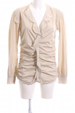 Chilli Long Sleeve Blouse cream casual look