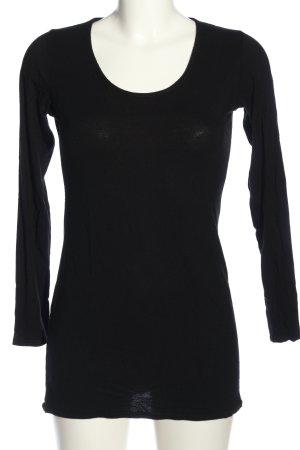 Chilli Koszulka z długim rękawem czarny W stylu casual