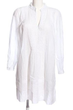 Chilli & Pepper Sukienka z długim rękawem biały W stylu casual