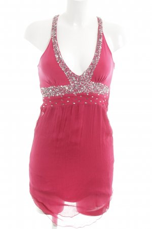 Chilli & Pepper Mini Dress pink party style