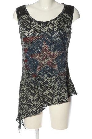 Chilli Print Shirt abstract pattern glittery