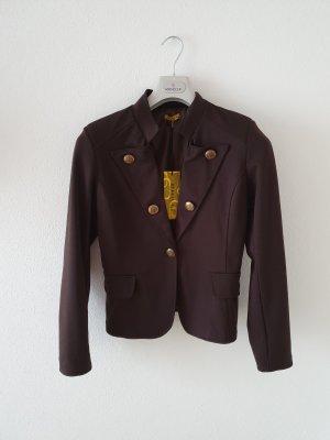 Chilli S/M dunkelbraun schokolade bronze  Blazer kurz elastisch Jersey