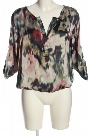 Chilli Slip-over blouse abstract patroon casual uitstraling