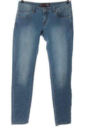 chillin Slim Jeans blau Casual-Look
