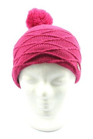 Chillouts Bonnet en crochet rose style décontracté