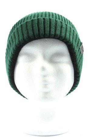 Chillouts Cappello a maglia verde stile casual