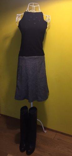 Chillytime Flared Skirt black-white polyester