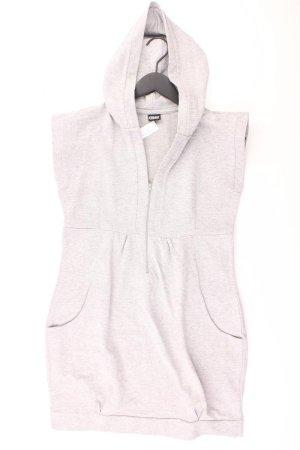 Chillytime Kapuzenkleid Größe 38 grau aus Baumwolle