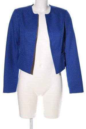 Chillytime Kurz-Blazer blau Casual-Look
