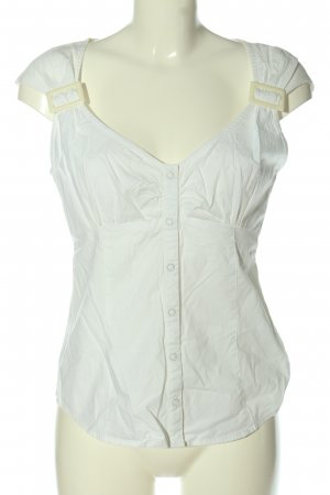 Chillytime Short Sleeved Blouse white casual look