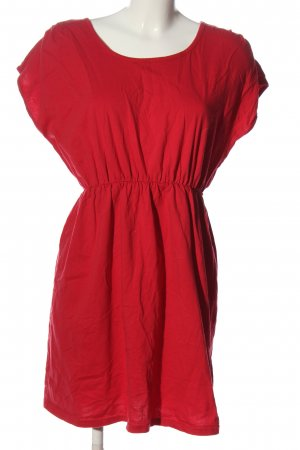 Chillytime Shortsleeve Dress red casual look