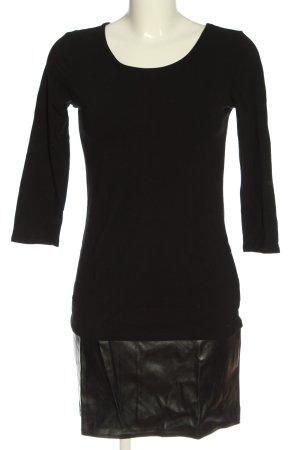 Chillytime Mini Dress black-khaki casual look
