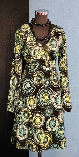 Chillytime Sukienka o kroju litery A Wielokolorowy