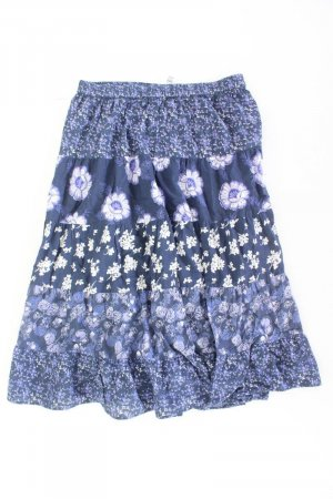 Chillytime Falda larga azul-azul neón-azul oscuro-azul celeste Algodón