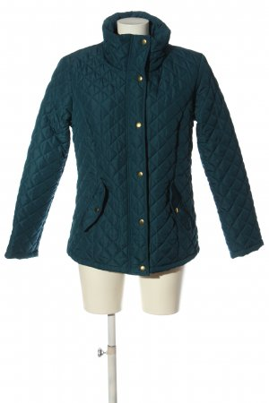 Chillytime Quilted Jacket blue quilting pattern casual look