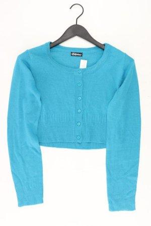 Chillytime Knitted Cardigan turquoise polyacrylic