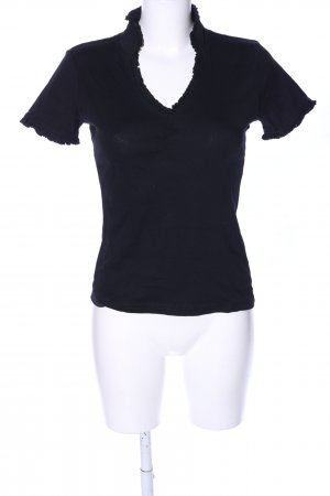 Chillytime T-Shirt schwarz Casual-Look