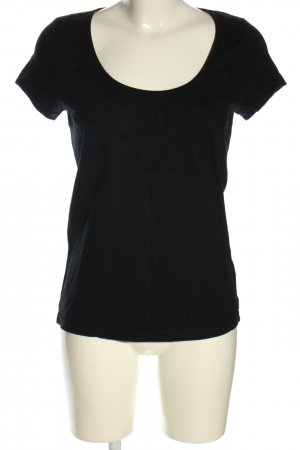 Chillytime T-shirt nero stile casual