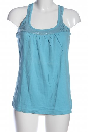 Chillytime Tanktop turkoois casual uitstraling
