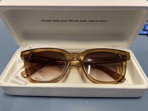 Chimi Gafas de sol cuadradas marrón claro-beige