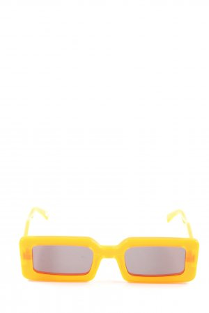 Chimi Kwadratowe okulary przeciwsłoneczne jasny pomarańczowy W stylu casual