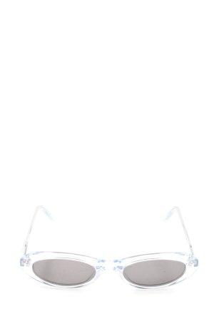 Chimi Owalne okulary przeciwsłoneczne biały W stylu casual
