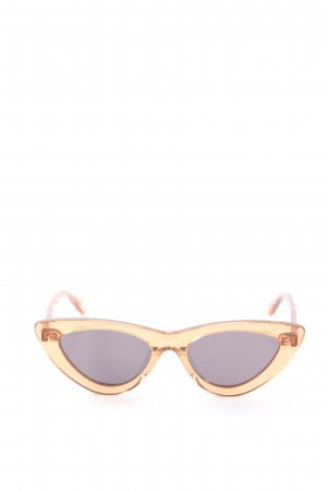 Chimi Retro Glasses light orange casual look