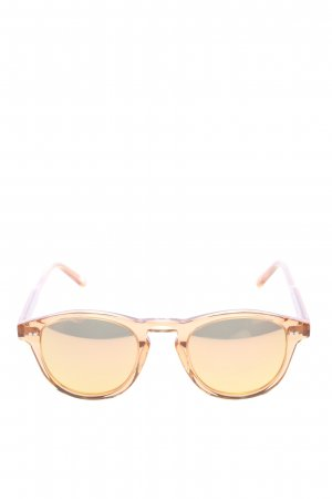 Chimi runde Sonnenbrille goldfarben Casual-Look