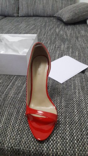 Another A High Heels bright red