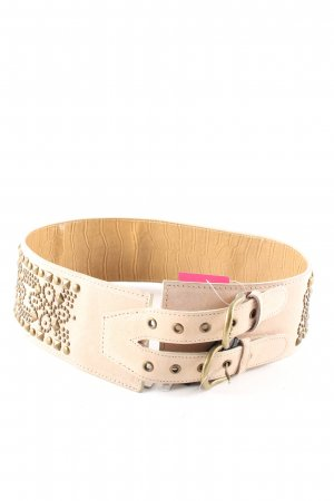 Chinese Laundry Waist Belt cream casual look