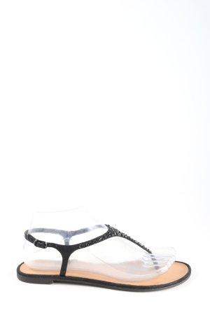 Chinese Laundry Sandalo toe-post nero elegante