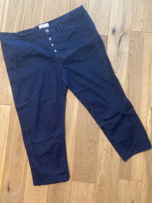 Sheego Pantalone chino blu scuro