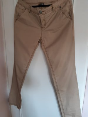 Chino Beige, Loose fit, Middle Waist,