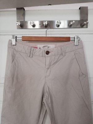 H&M L.O.G.G. Pantalone chino bianco sporco Cotone