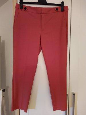 Mango Pantalone chino rosso lampone