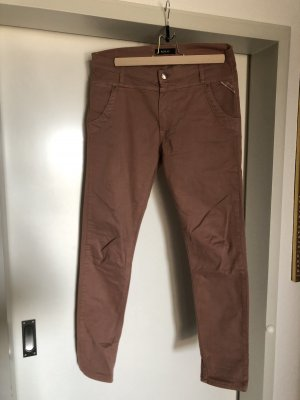 Replay Chinos rose-gold-coloured
