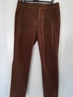 Zara Basic Pantalone chino marrone