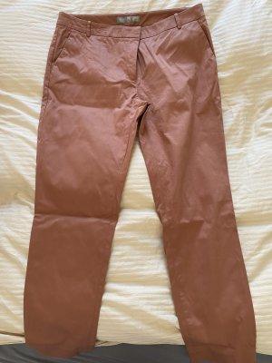 Hallhuber Pantalone chino ruggine
