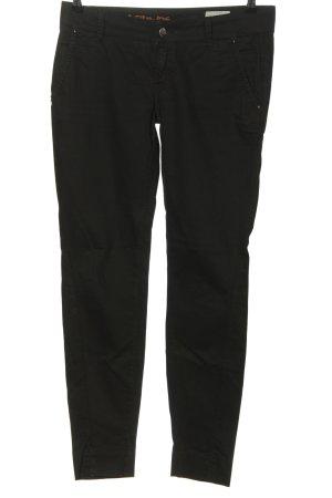 Chino & friends Dopasowane jeansy czarny W stylu casual