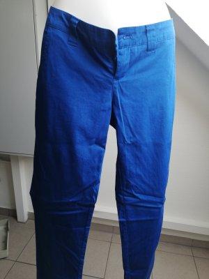 AJC Chinosy niebieski-niebieski neonowy