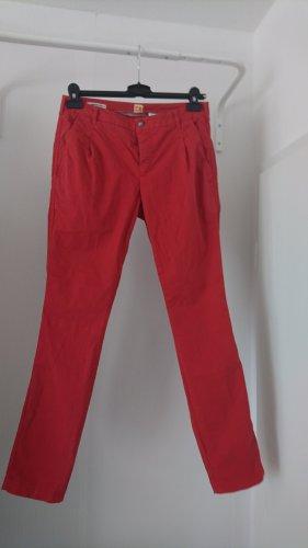 Boss Orange Pantalon chinos rouge clair