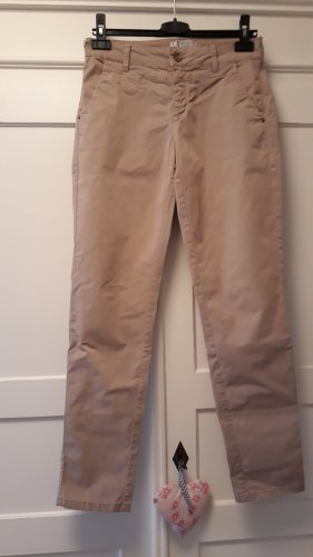 Chino-Hose COMMA Gr. XS helles braun/nude